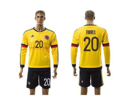 <img src='/pic/Colombia--2320-Torres-Home-Long-Sleeves-Soccer-Country-Jersey-6447-70278.jpg' width=400>