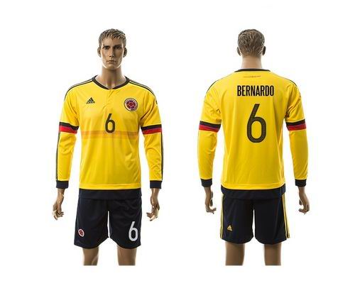 <img src='/pic/Colombia--236-Bernardo-Home-Long-Sleeves-Soccer-Country-Jersey-8477-39340.jpg' width=400>