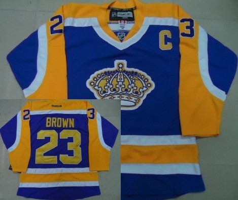 <img src='/pic/Los-Angeles-Kings--2323-Dustin-Brown-Purple-With-Yellow-Jersey-5960-92152.jpg' width=400>