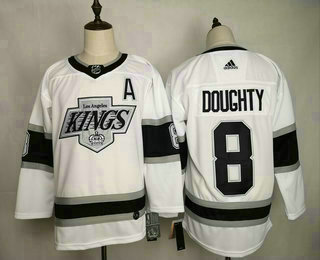 <img src='/pic/Men-27s-Los-Angeles-Kings--238-Drew-Doughty-White-With-A-Patch-Adidas-Stitched-NHL-Jersey-8713-79385.jpg' width=400>