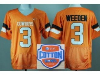 <img src='/pic/Oklahoma-State-Cowboys-3-Brandon-Weeden-Orange-Pro-Combat-College-Football-NCAA-Jerseys-2014-AT--26-T-Cotton-Bowl-Game-Patch-6498-67281.jpg' width=400>