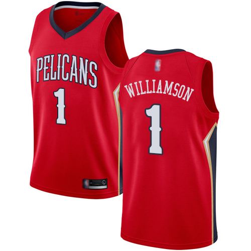 <img src='/pic/Pelicans--231-Zion-Williamson-Red-Basketball-Swingman-Statement-Edition-Jersey-1090-74272.jpg' width=400>