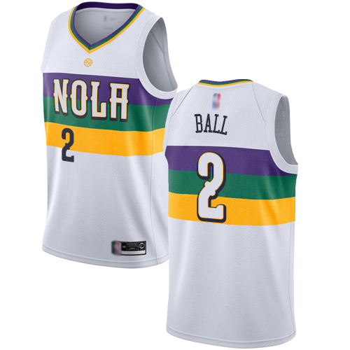 <img src='/pic/Pelicans--232-Lonzo-Ball-White-Basketball-Swingman-City-Edition-2018-19-Jersey-4157-89812.jpg' width=400>