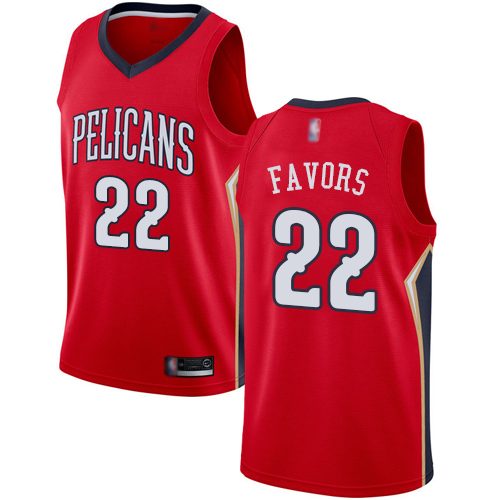 <img src='/pic/Pelicans--2322-Derrick-Favors-Red-Basketball-Swingman-Statement-Edition-Jersey-7111-11467.jpg' width=400>
