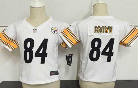 <img src='/pic/Toddler-New-NFL-Jerseys-Pittsburgh-Steelers-84-Antonio-Brown-White-Jerseys-9180-91357.jpg' width=400>