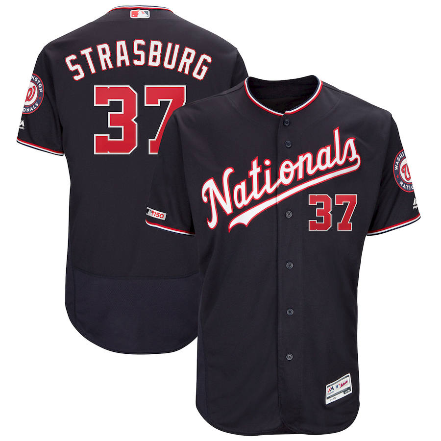 <img src='/pic/Washington-Nationals--2337-Stephen-Strasburg-Majestic-Alternate-Authentic-Collection-Flex-Base-Player-Navy-Jersey-9118-23788.jpg' width=400>